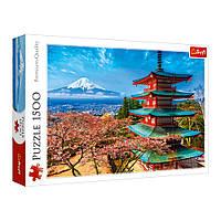 """Пазли - (1500 елм.) - """"Гора Фудзі"""" (Японія) / Trefl (26132)"""