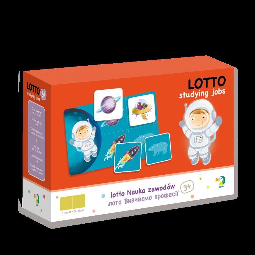 Настільна гра Лото Вивчаємо Професії Dodo (лото для самих маленьких) 300136