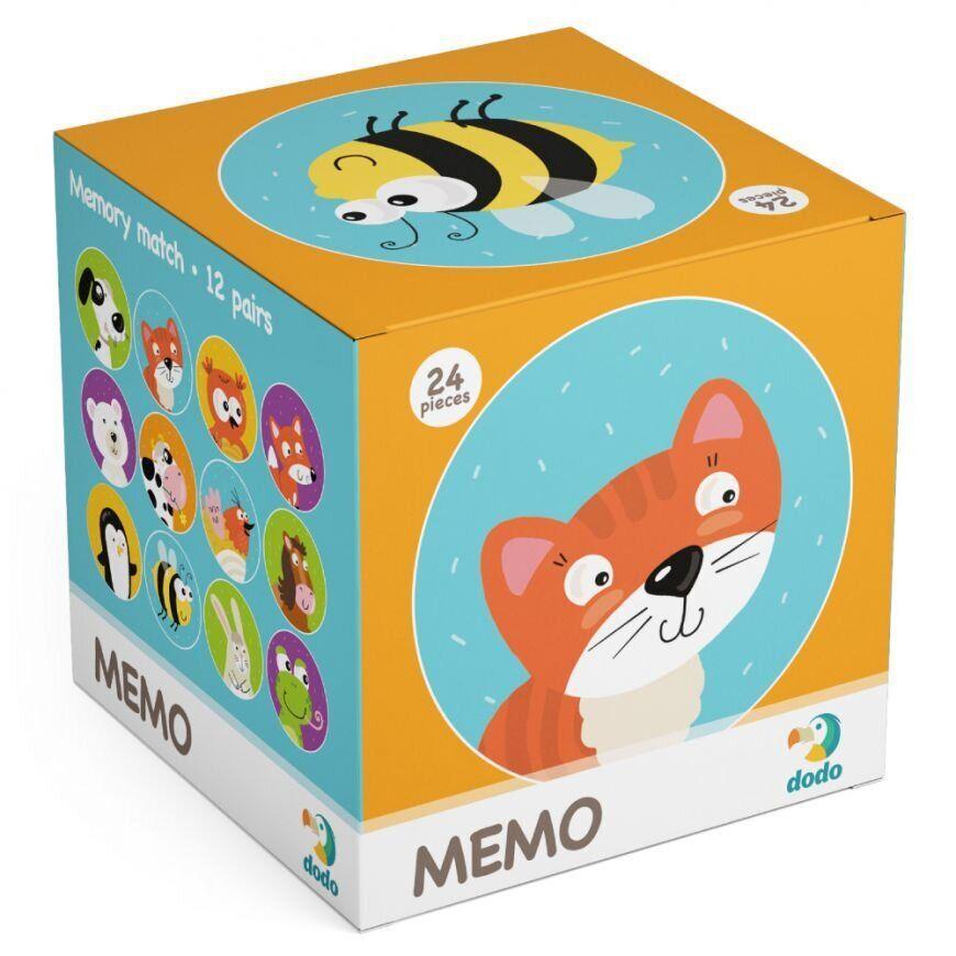 Настільна Гра Мемо Тваринки Dodo (міні-гра на розвиток пам'яті) 300145