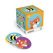 Настільна Гра Мемо Тваринки Dodo (міні-гра на розвиток пам'яті) 300145, фото 2