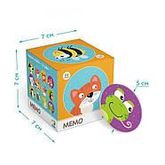 Настільна Гра Мемо Тваринки Dodo (міні-гра на розвиток пам'яті) 300145, фото 3