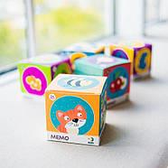 Настільна Гра Мемо Тваринки Dodo (міні-гра на розвиток пам'яті) 300145, фото 5