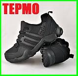 Кроссовки Мужские ТЕРМО Климапруф Черные (размеры: 41,42,43,44,46), фото 2