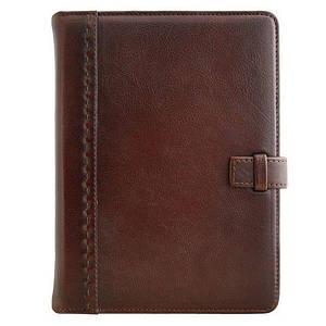 """Кожаный ежедневник """"Шарм"""". Цвет коричневый"""