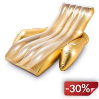 Надувное кресло-шезлонг для плавания Intex 56803 одноместное 188х135 см (bint_56803)