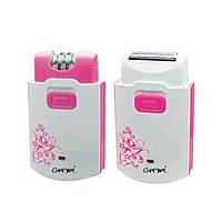 Эпилятор Gemei GM 3058 2 в 1 Розовый sp0350, КОД: 107324
