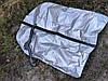 Полиэтиленовые цветные чехлы для одежды 90/60см с молнией