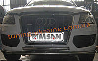 Защита переднего бампера двойная труба на  Audi Q5