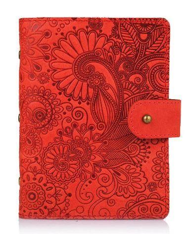 "Картхолдер, коллекция ""Mehendi Art"". Цвет красный"