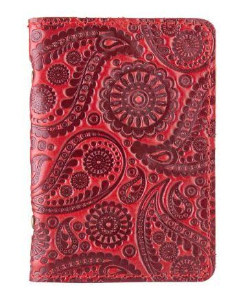 """Обложка-органайзер для ID паспорта / карт, коллекция """"Buta Art"""". Цвет красный"""