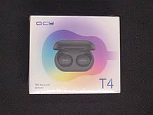 T4 Беспроводные TWS наушники черные Xiaomi QCY T4 black