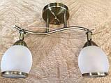 Люстра с двумя плафонами, фото 2
