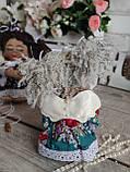 """Модный ангелочек """"Сплюшка"""" , авторская работа, (190/220), ангел 22см (цена за 1 ангела + 30 гр.), фото 10"""