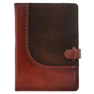 """Кожаный ежедневник """"Вестерн"""". Цвет коричневый"""