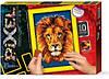 Піксельна мозаїка PM-01-06 Лев (210мм*297мм)Д/Т