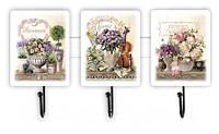 """Сувенірний вішачок """"Прованс"""" Букет троянд, з скрипкою, букет піон"""""""