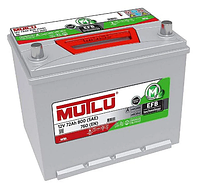 Аккумулятор MUTLU EFB Start-Stop 6CT-72Ah/800A R+ Asia EFB.D26.72.076.C Автомобильный (МУТЛУ) АКБ Турция НДС