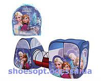Детская игровая палатка с туннелем Холодное сердце Фрозен