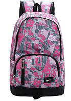 Рюкзак городской Nike Graffiti реплика pink