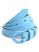 Женский кожаный ремень 7217 Light Blue Купить женский кожаный ремень