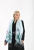 Качественный стильный легкий вискозный шарф