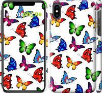 """Чехол на iPhone XS Max Красочные мотыльки """"4761c-1557-39839"""""""