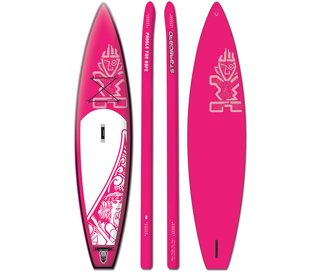 "Сапборд Starboard INF. SUP 11'6"" x 29"" PADDLE FOR HOPE(2017) - надувна дошка для САП серфінгу, sup board"