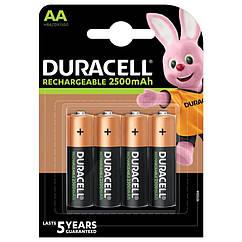 Аккумулятор Duracell Recharge Turbo DX1500, AA/(HR6), 2500 mAh, LSD Ni-MH, блистер 4шт