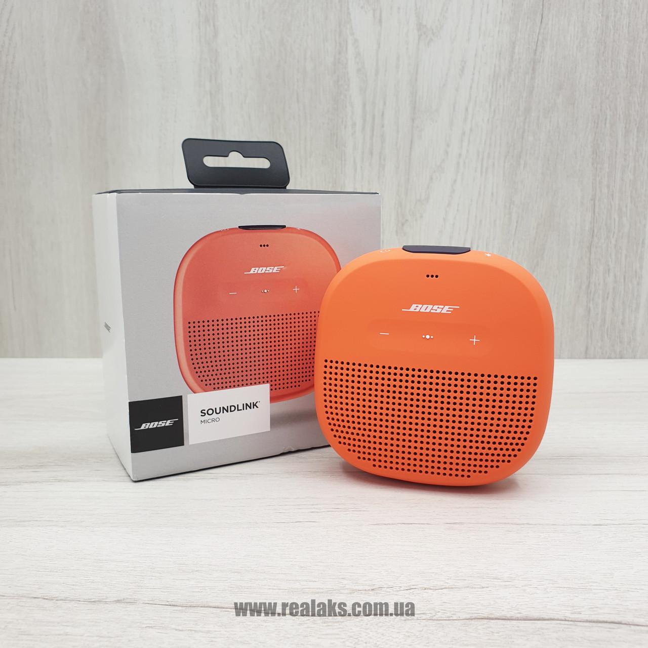 Портативна колонка Bose SoundLink Micro (Orange)