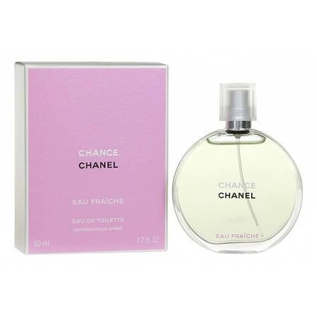 Chanel Chance Eau Fraiche Туалетная вода EDT 100 ml (Шанель Шанс Фреш) Женский Парфюм Аромат Духи EDP Perfume, фото 2