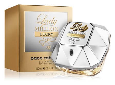 Paco Rabanne Lady Million Lucky Парфюмированная вода EDP 80 ml (Пако Рабан Леди Миллион Лаки) Женский Парфюм, фото 2