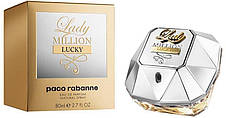 Paco Rabanne Lady Million Lucky Парфюмированная вода EDP 80 ml (Пако Рабан Леди Миллион Лаки) Женский Парфюм, фото 3