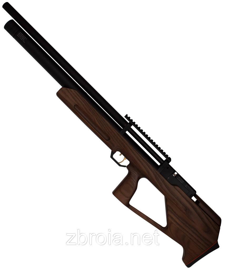 ZBROIA. Гвинтівка PCP Козак 550/290 (кал. 4,5 мм, коричневий)