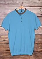 Футболка мужская Massimi Dutti 0922/203 blue размер XL