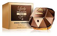 Paco Rabanne Lady Million Prive Парфюмированная вода EDP 80 ml (Пако Рабан Леди Миллион Прайв) Женский Парфюм