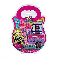 Набор детской косметики Beauty Collection тени, лак, блеск. Fashion Girl J-205