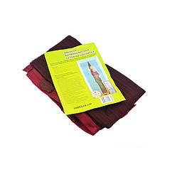 Дверная антимоскитная сетка на магнитах Magic Mesh Темно-вишневая hubnp20064, КОД: 163224