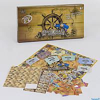 Настольная игра детская монополия Пиратская от 6 лет для всей семьи(І7 81296)
