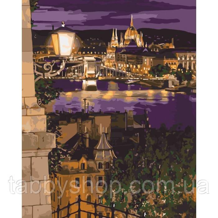 Картина по номерам Идейка - Магические краски Будапешта