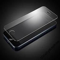 Apple iPhone 5, 5s, 5с, SE защитное стекло на телефон противоударное 9H прозрачное Glass