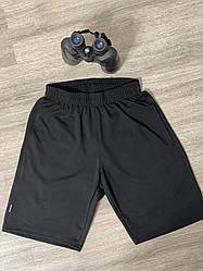 Летние чёрные мужские шорты норма размеры  l,хl,2хl,52,54