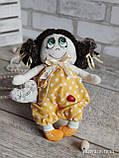 """""""Дівчинка-ангел"""" текстильна ручної роботи, сердечко із побажаннями, 22см., 180/150 (цена за 1 шт.+30гр.), фото 6"""