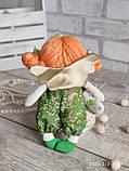 """""""Дівчинка-ангел"""" текстильна ручної роботи, сердечко із побажаннями, 22см., 180/150 (цена за 1 шт.+30гр.), фото 2"""