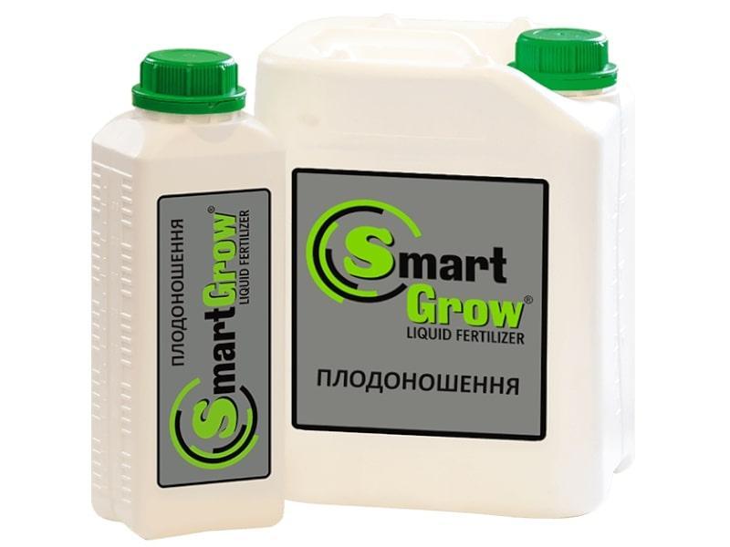 Добриво SmartGrow ПЛОДОНОШЕННЯ регулятор росту з калієм і гуматами Смарт Гроу (1 л)
