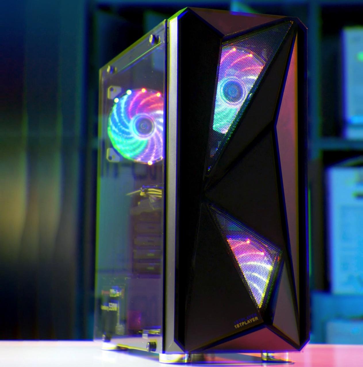 Игровой компьютер Вихрь 2.0 (Intel Core i5-3470/GTX 1060 3Gb/RAM 8Gb/SSD 120Gb/HDD 500Gb)