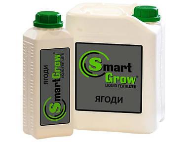 Удобрение SmartGrow ЯГОДЫ регулятор роста для ягодных с гуматами Смарт Гроу (1 л)