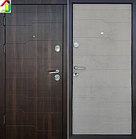 Дверь входная SteelArt СТАНДАРТ Волна 3D Орех мореный Дуб циамон, дверь для квартиры, офиса, бронированная.