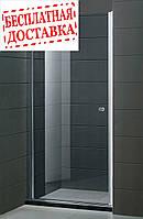 Душевые двери левосторонние PARADISO 100х185 P2151SG-L (коричневые) AK