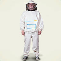 Костюм пчеловода с пришитой лицевой сеткой размеры 60 и 62