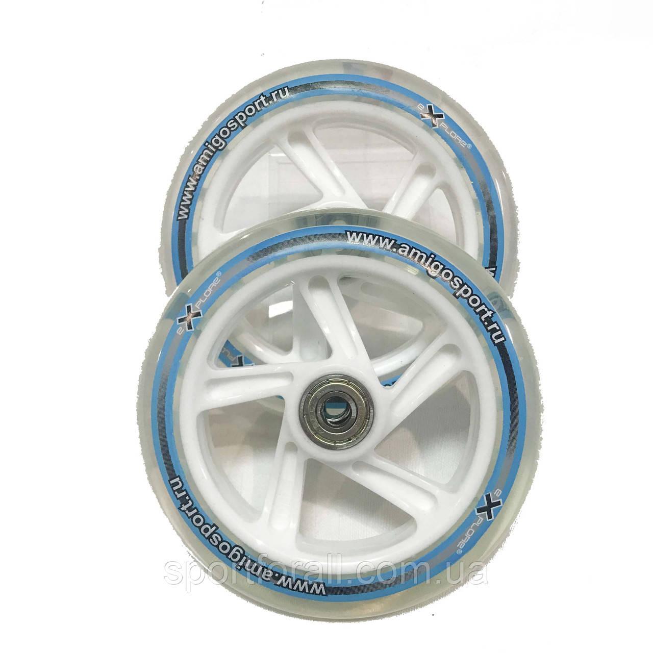 Колеса для самоката з підшипником 608-ZZ Explore Scooter Wheels 125мм (2шт)